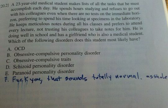 rules for dating a med student