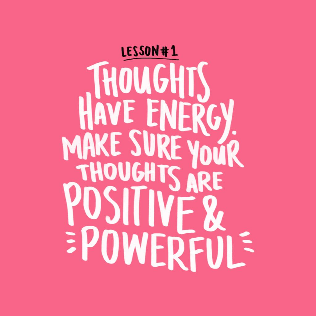 Quote About Thinking Positive: Inspirational Quote - Positivity