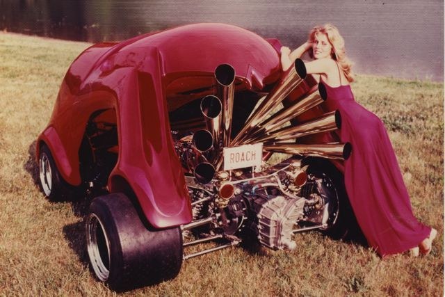 Image result for Mid engine hot rod 70's newton