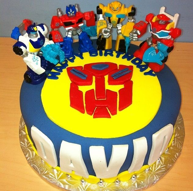 Super Rescue Bots Birthday Cake With Images Transformers Birthday Funny Birthday Cards Online Alyptdamsfinfo