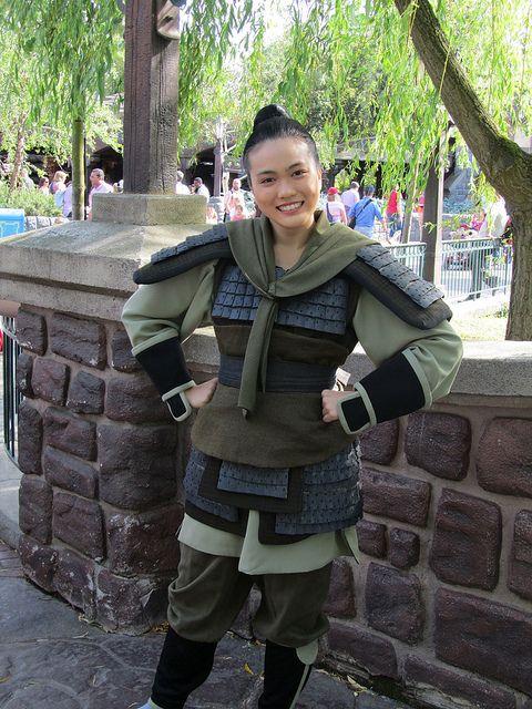 Mulan warrior costume #princesshalf  sc 1 st  Pinterest & Mulan | Pinterest | Warrior costume Costumes and Cosplay