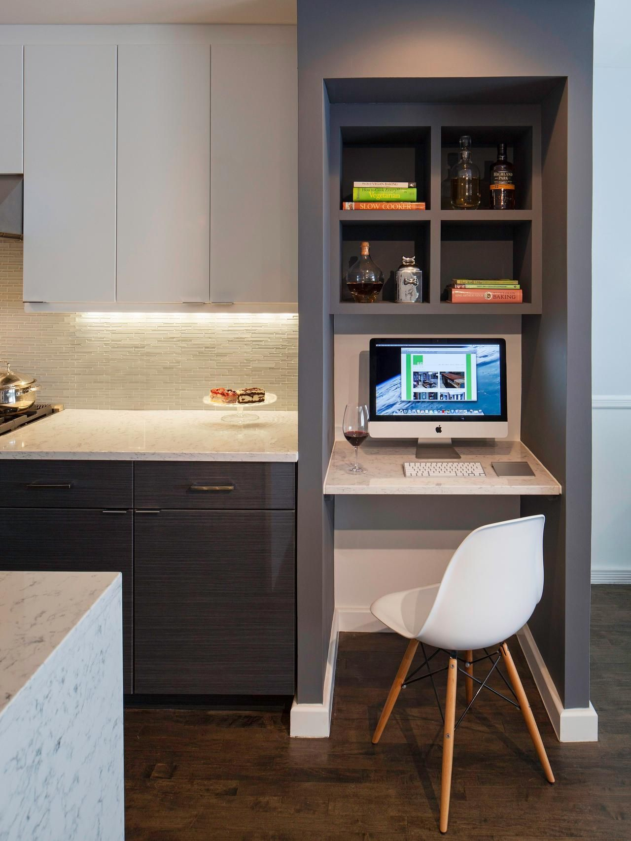 Best Kitchen  Hgtv Running And Kitchens Captivating Kitchen Desk Design Design Inspiration
