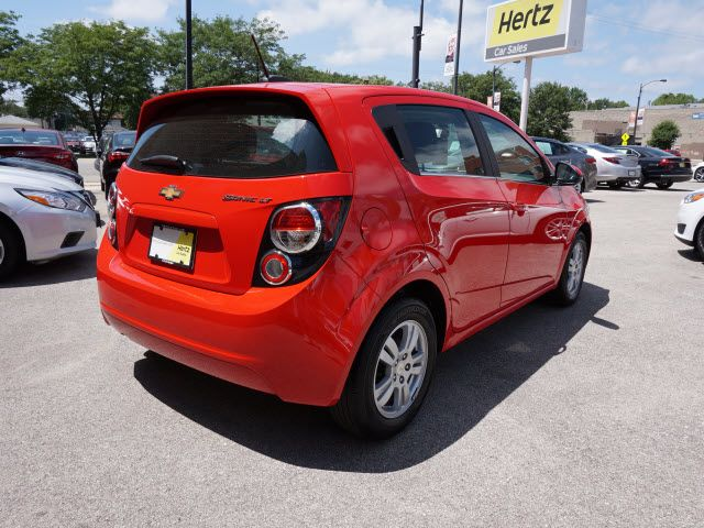 2016 Chevrolet Sonic Lt Auto Hatchback Chevrolet Sonic Cars For
