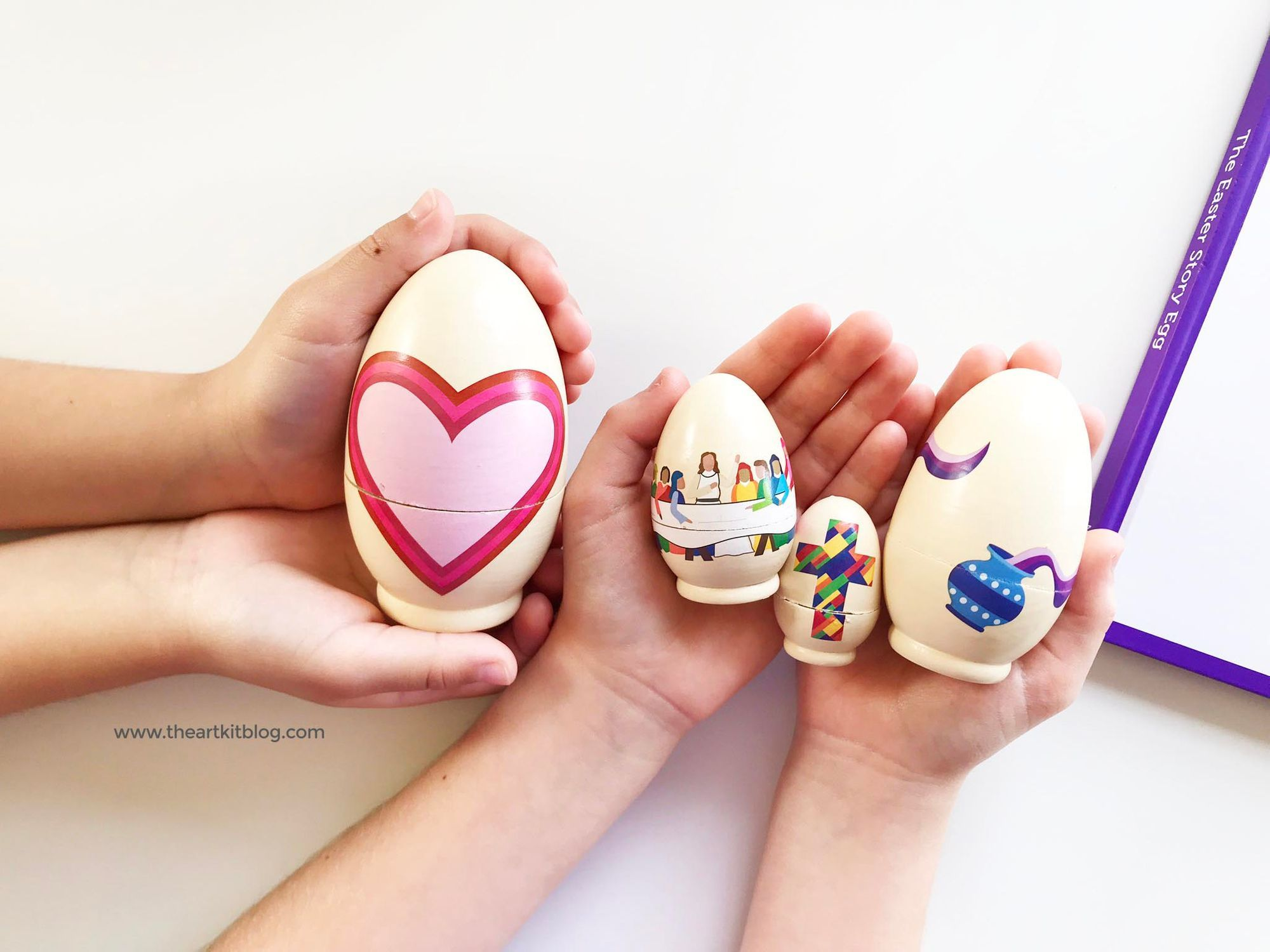 Prepare your little ones with The Easter Story Egg and celebrate our Lords resurrection    decorating jesus The Easter Story Egg