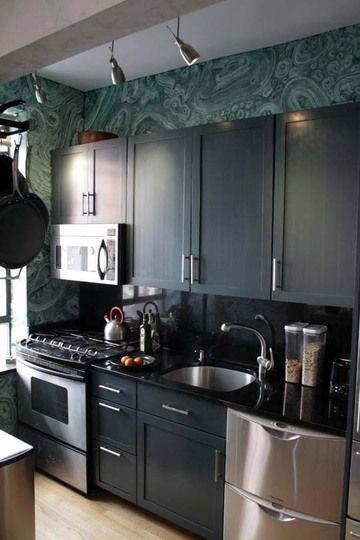 How To Paint Faux Malachite Kitchen Decor Decor