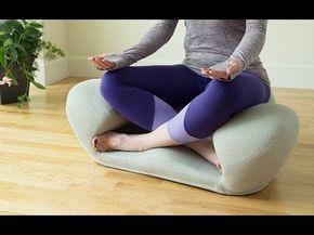 Fabric Ergonomic Meditation Seat