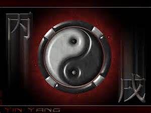 """Das Yin-Yang-Symbol, chinesisch Taijitu (chinesisch 太極圖 / 太极图, Pinyin Tàijí Tú, wörtlich """"Symbol des sehr großen Äußersten/Höchsten""""), ist ein im chinesischen Daoismus und auch Neukonfuzianismus verwendetes Zeichen (chinesisch tu, Symbol oder Diagramm) für das als Ursprung der Welt aufgefasste Taiji (""""sehr große Äußerste""""). Das Bildmuster ist bereits bei den Kelten,[1] Etruskern[2] und Römern[3] verbreitet."""