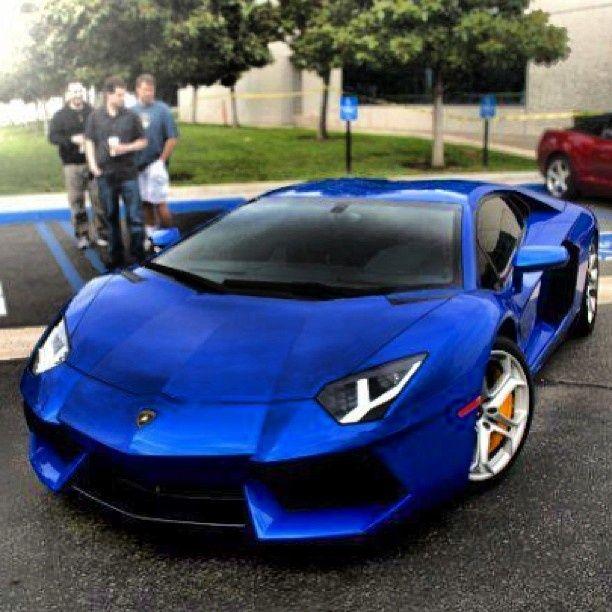 Lamborghini Aventador Blue - Google Search