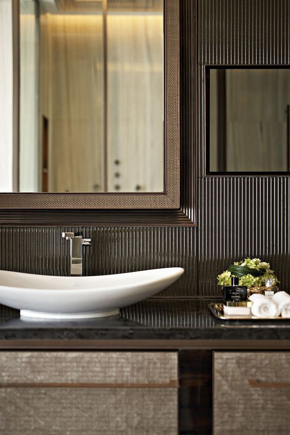 Powder Room By Amy Kartheiser Design: Pin By Prat Basai On Bathroom In 2019