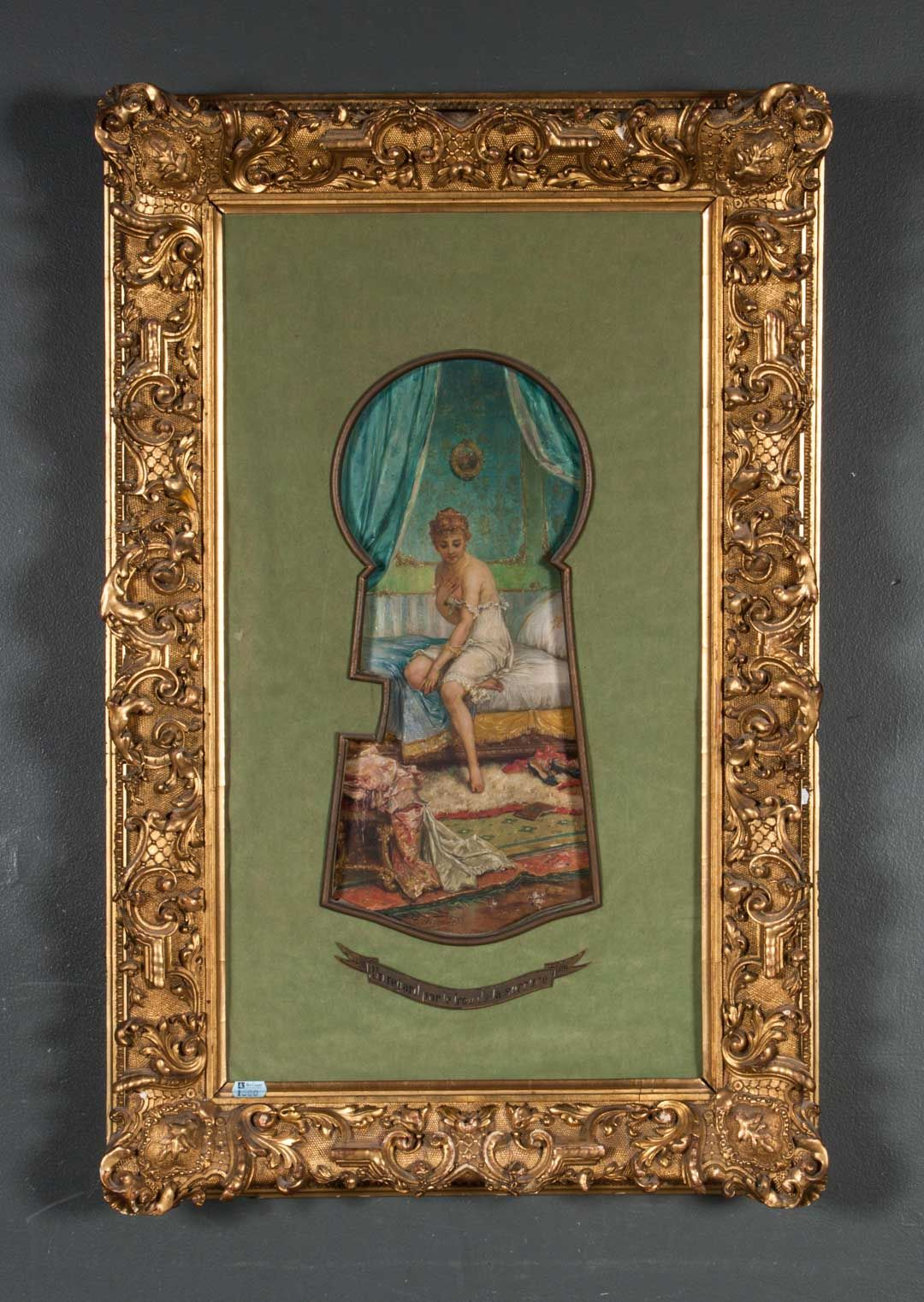 Lot 1600 Joseph Bernard Lady Undressing Oil On Panel French Paintings Painting Bernard