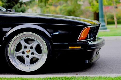 Independent Wheel Cars Bmw E24 Bmw 635
