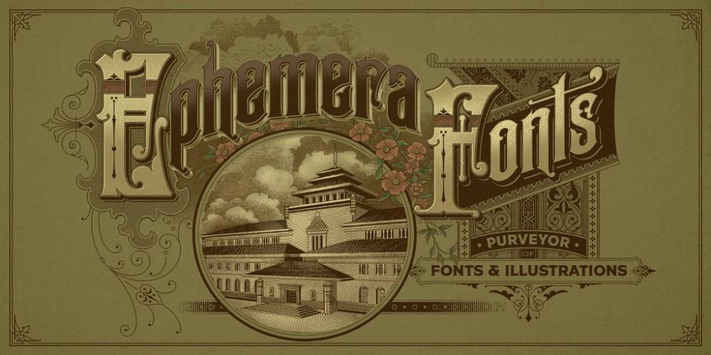 Ephemera Sickles in 2020 Letterhead design, Visual