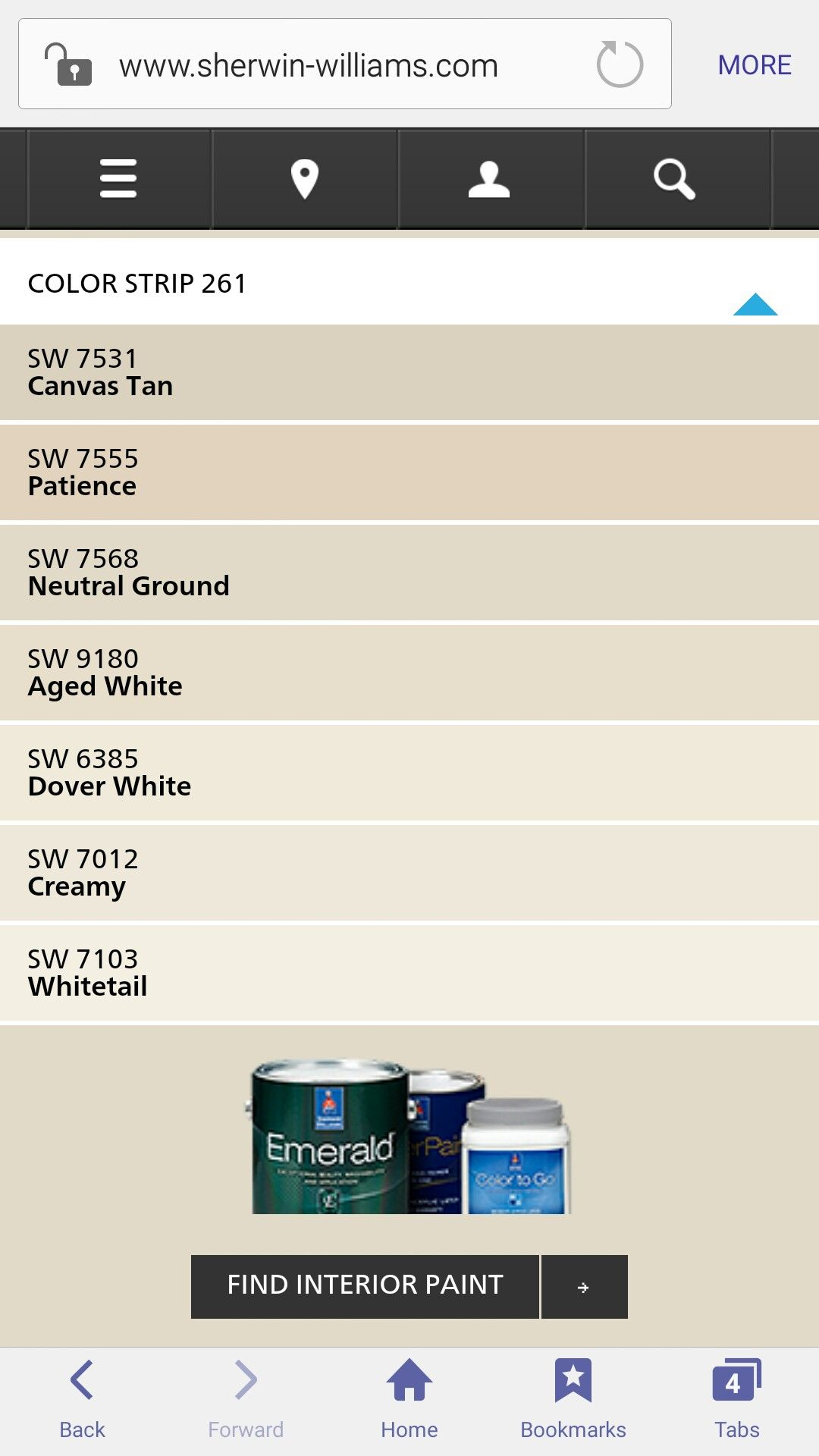 Sw 7568 Neutral Ground Color Strip White Paint Colors Exterior