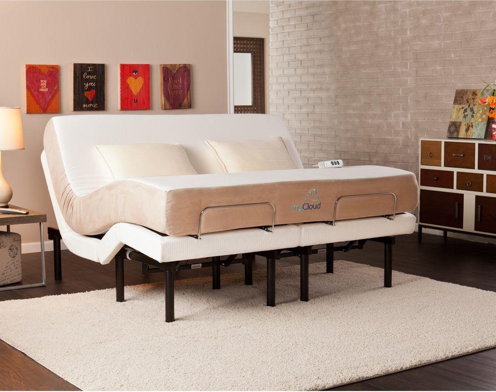 "10"" Cal KingSize Gel Infused Memory Foam Mattress Bedroom"