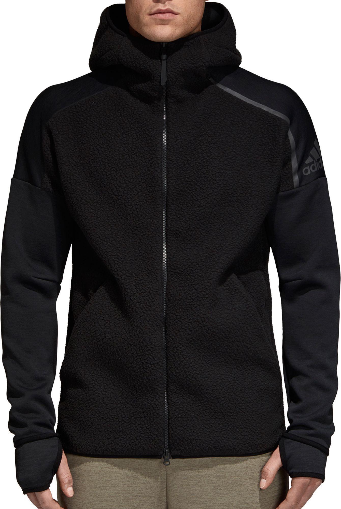 adidas Men's Z.N.E. Winterized Full Zip Hoodie | Adidas z