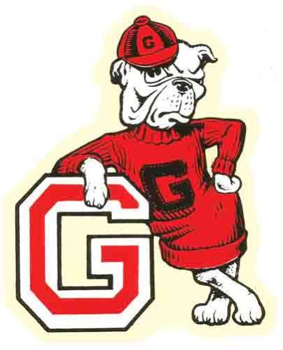 University Of Georgia Uga College Vintage Looking Travel Decal Sticker Bulldog Cartoon College Logo Georgia