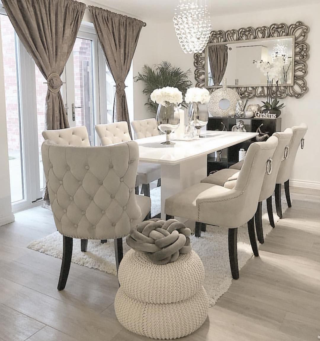 Via ivys luxury home idea por dani porto homeidea decor decoracao    also best decorating ideas images in bedrooms dinning table rh pinterest