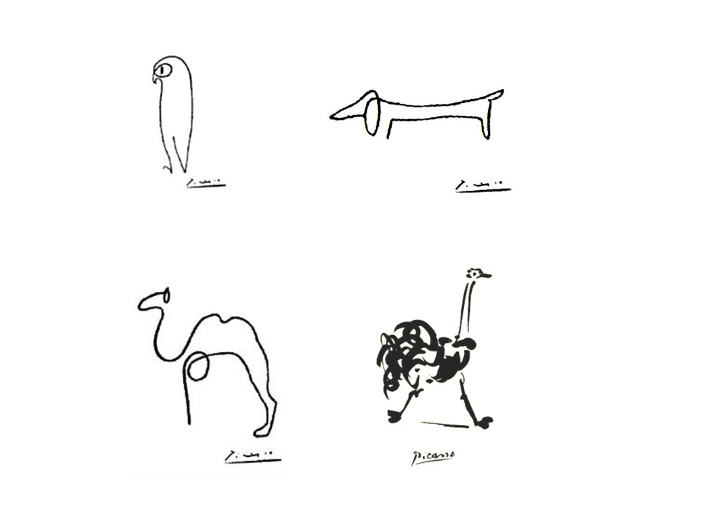 Picasso Line Art Animals : Picasso one line drawings ink pinterest