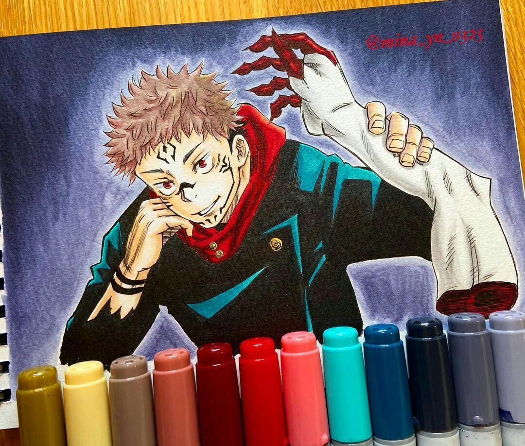 Ryomen Sukuna Desenhos Desenho De Anime Desenho