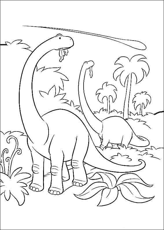 Desenhos Infantis Para Colorir Do O Bom Dinossauro Dinossauro