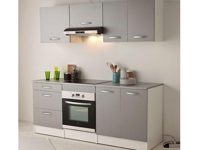 Cuisine SPOON COLOR coloris gris - Vente de Les cuisines ...