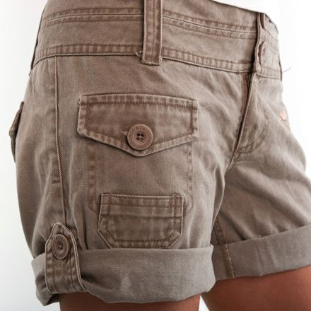 Women's Cargo Shorts and How to Wear Them 2015-2016 | MyFashiony ...