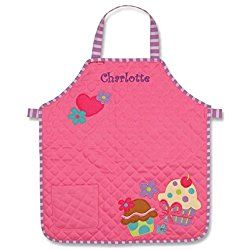 40679dd18028 Personalized Sweet Cupcakes Quilted Kids Apron | Personalized Aprons ...