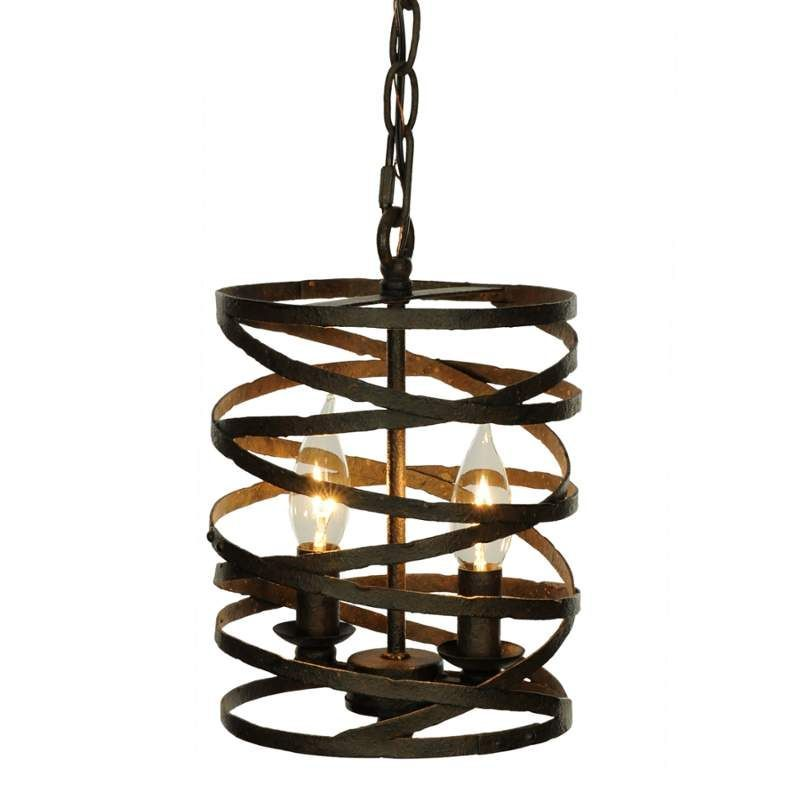 View the Miseno MLIT155181RT 2-Light Mini Pendant with Weathered Band Shade at LightingDirect.  sc 1 st  Pinterest & View the Miseno MLIT155181RT 2-Light Mini Pendant with Weathered ...