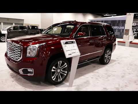 2 New 2019 Gmc Yukon Denali Suv Exterior Tour Walk Around