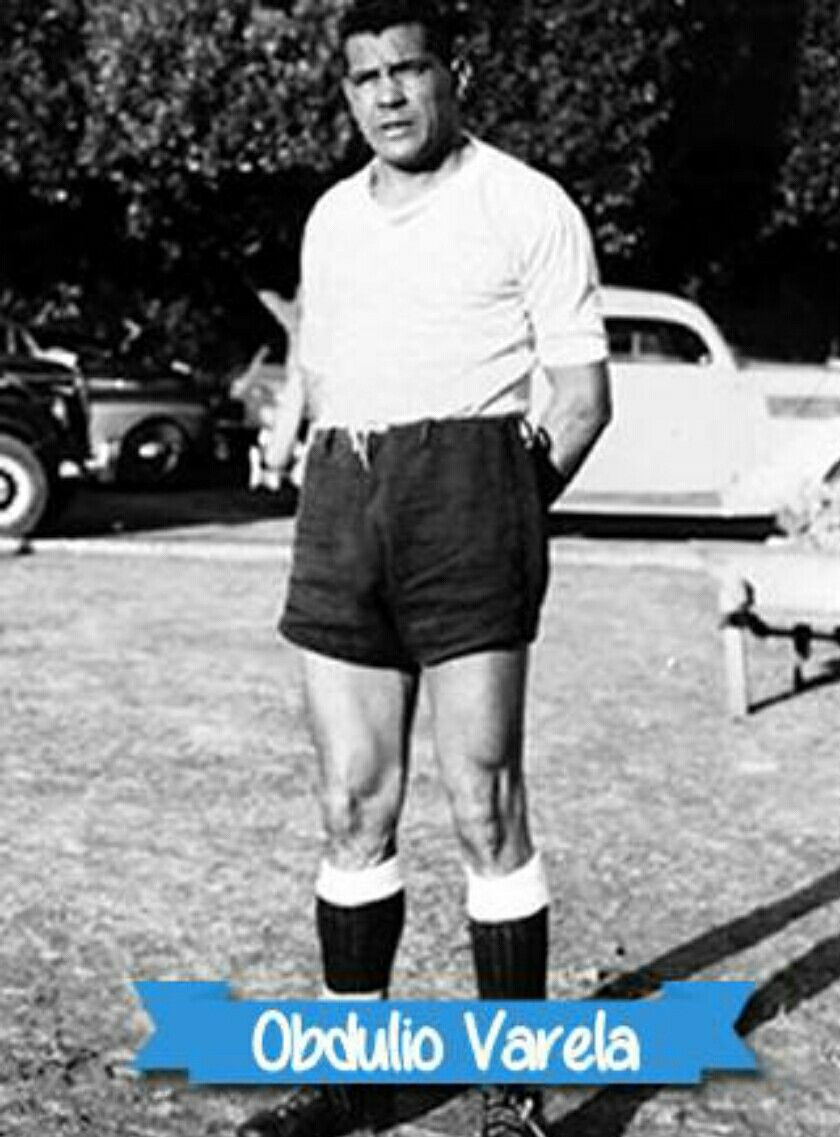 Obdulio Varela of Uruguay in 1949 1940s Football