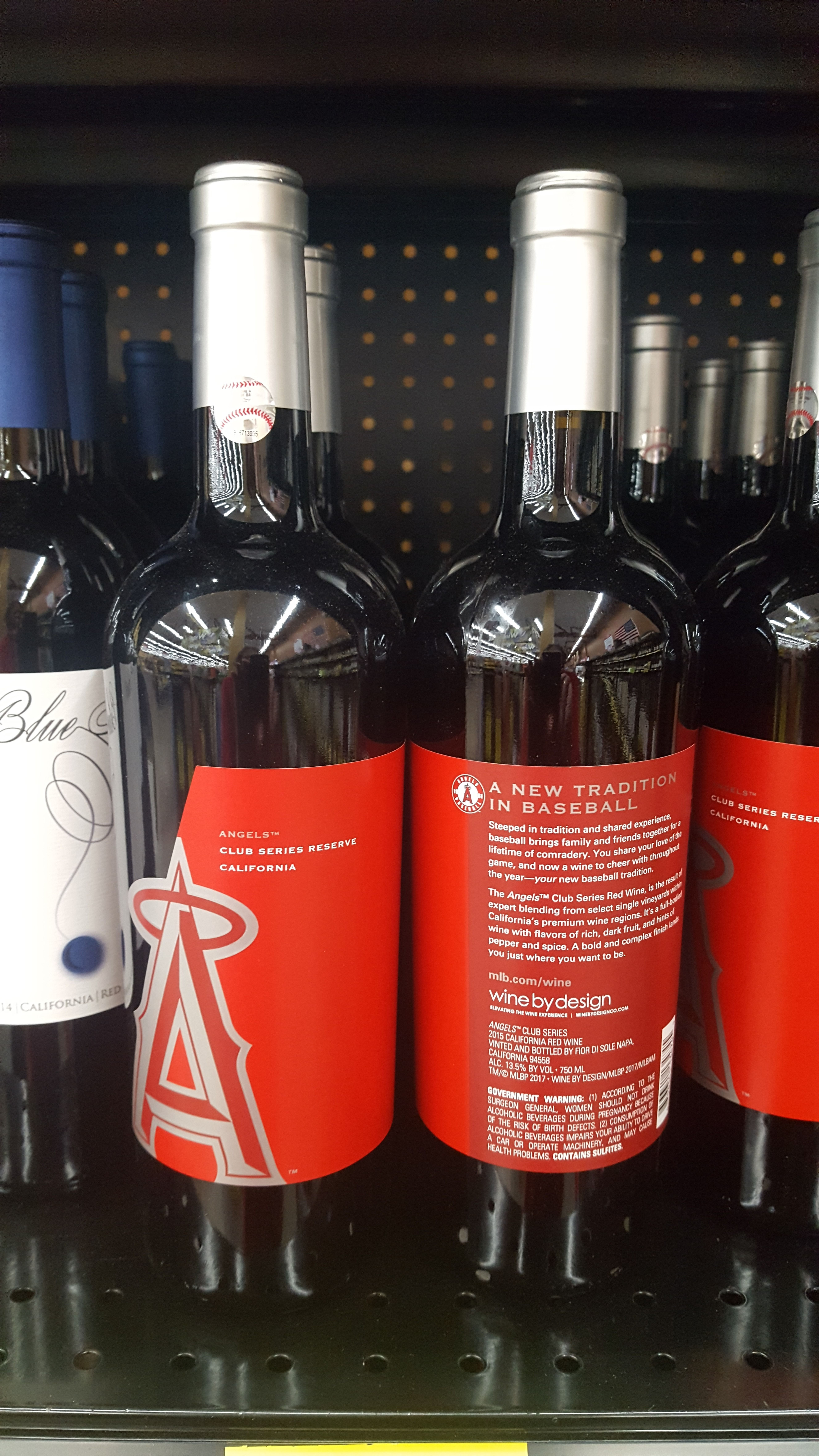 Baseball Angels Wine With Images Wine Bottle Wine Bottle