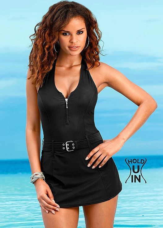 d39897893a7 Hold you in swim dress from VENUS Swimsuit Selection