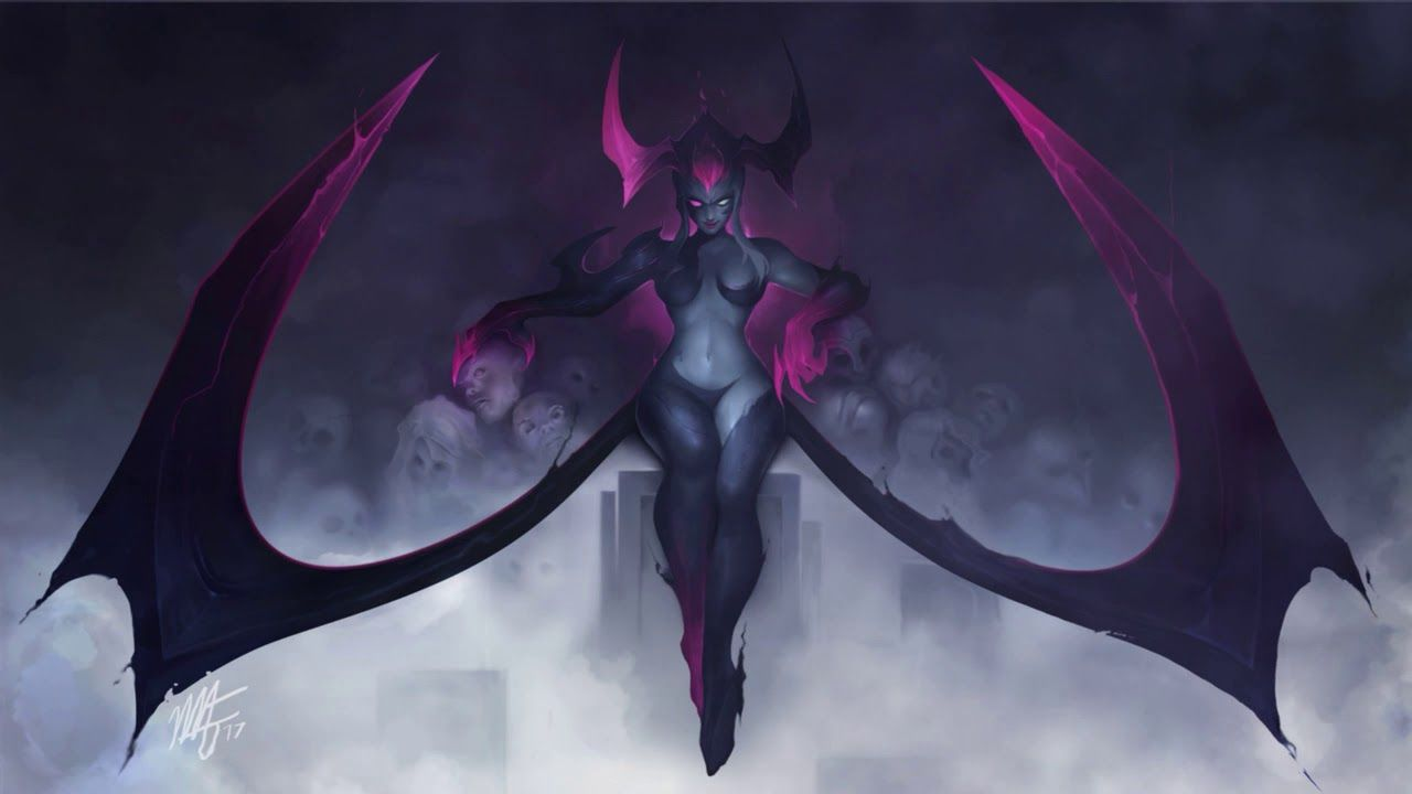 Evelynn Animated Wallpaper League of Legends [Fanmade] https://www.youtube