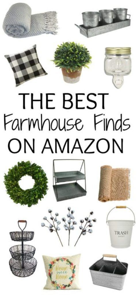 Farm house finds from amazon. Farmhouse decor is all the rage right now images