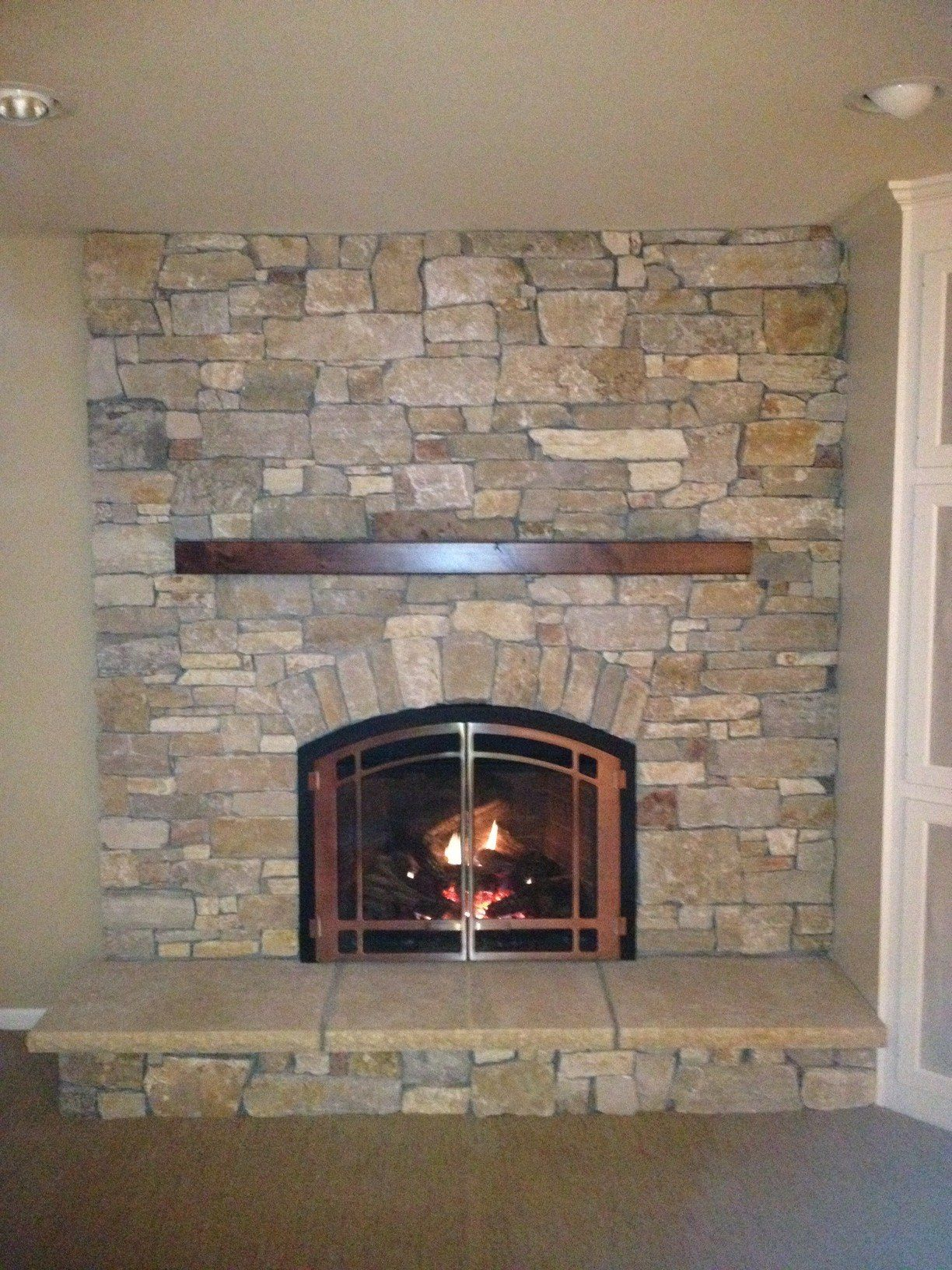 Painting Brick Indoor Fireplace Fireplace Ideas 1224x1632 Fireplaces Minneapolis Twin City Fireplace Casas