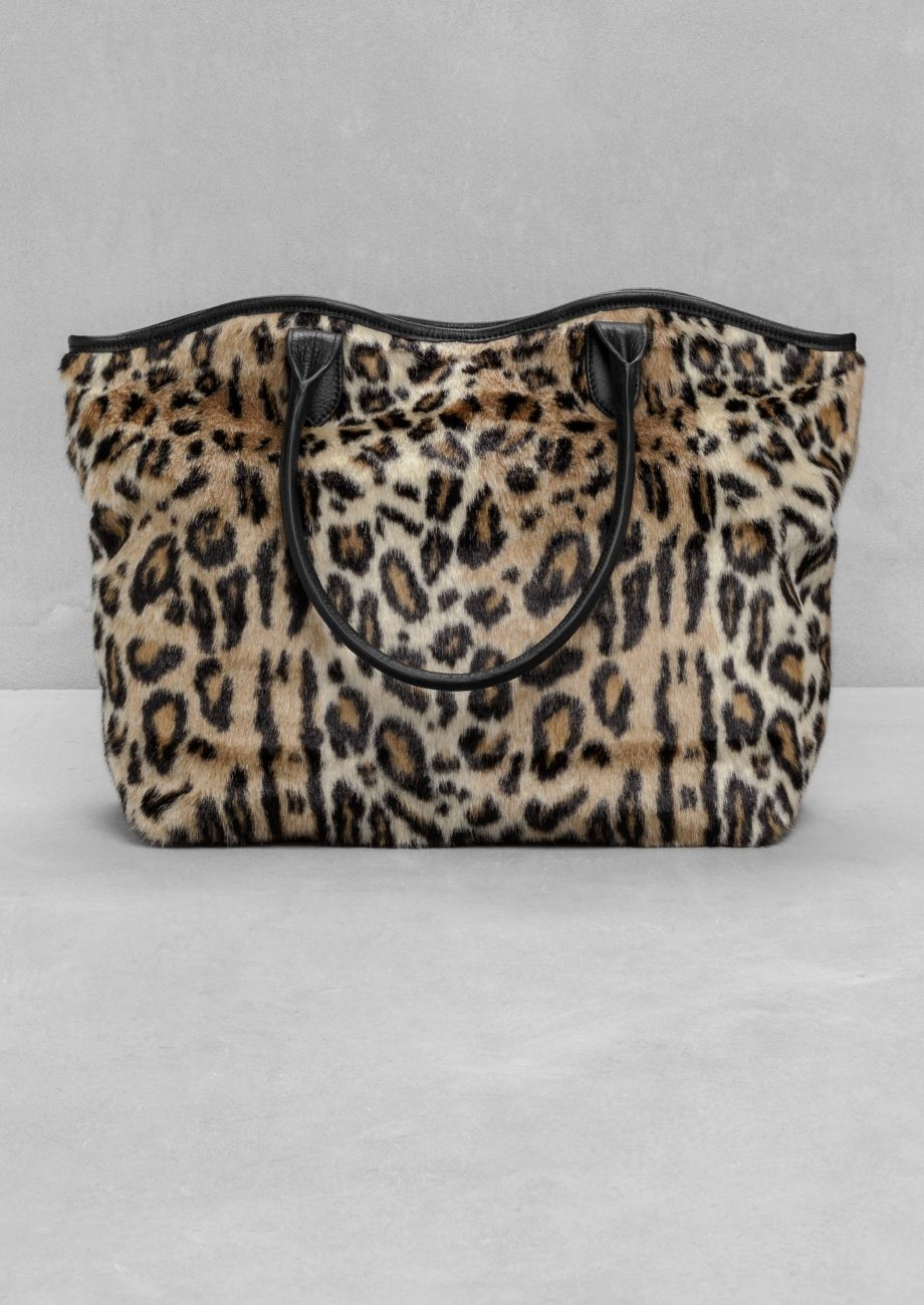 & Other Stories | Leopard Shopper.