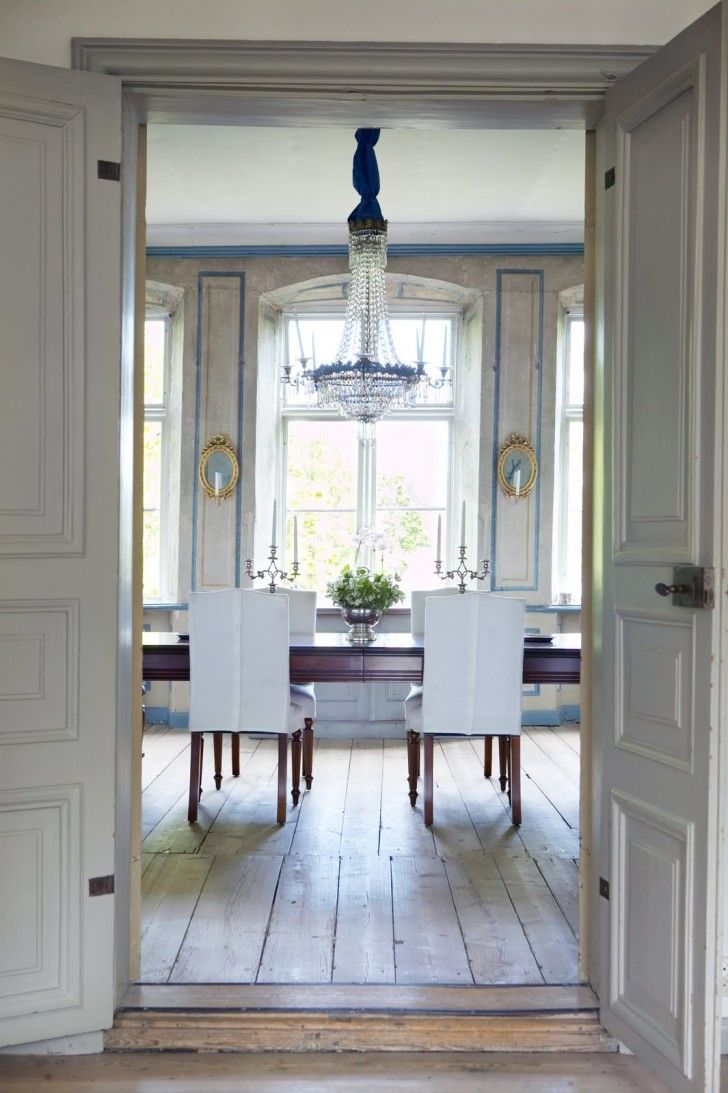Home Design. Exquisite Dining Room Interior Design Ideas Showcasing Long  Wooden Varnished Table With Pleasant