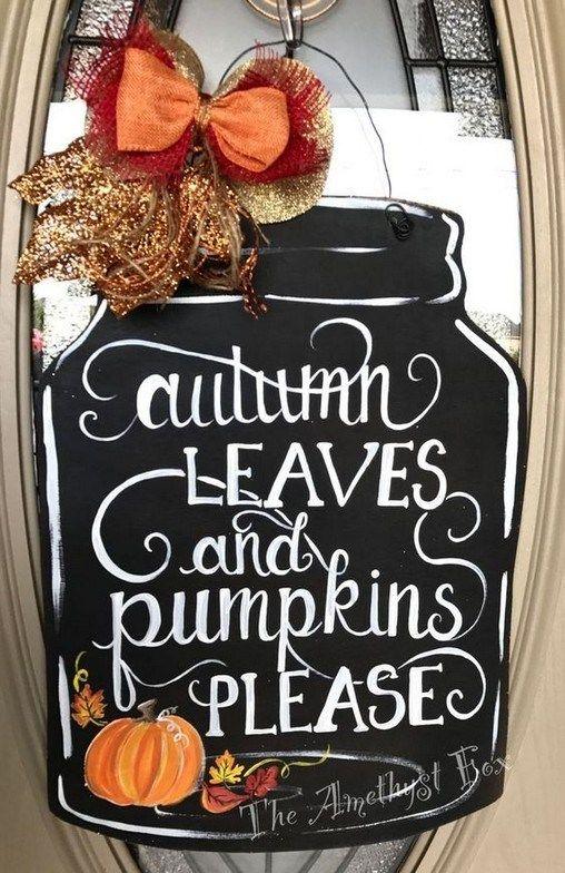 +14 Halloween Door Hanging DIY #halloweendoordecor