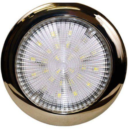 SeaSense 5-1/4 inch Bright Slim LED Ceiling Light, White