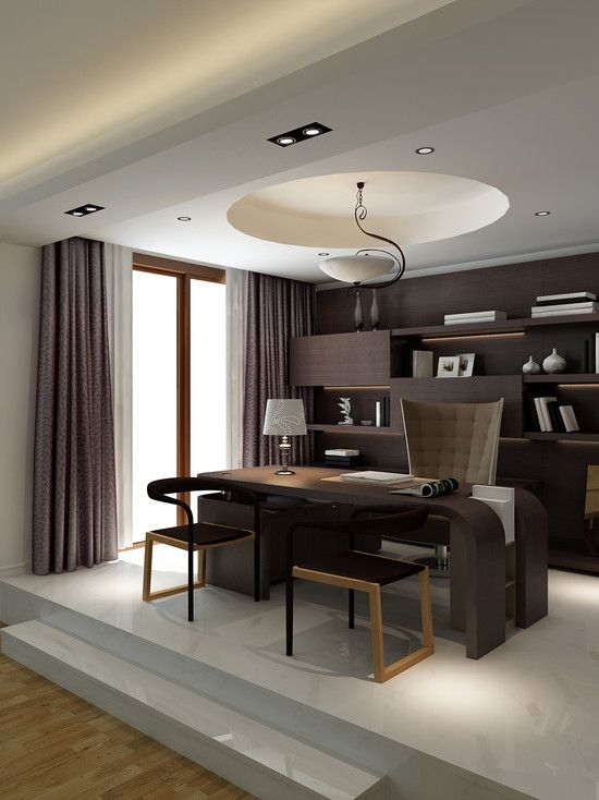 Modern Home Office Design, Pictures, Remodel, Decor and