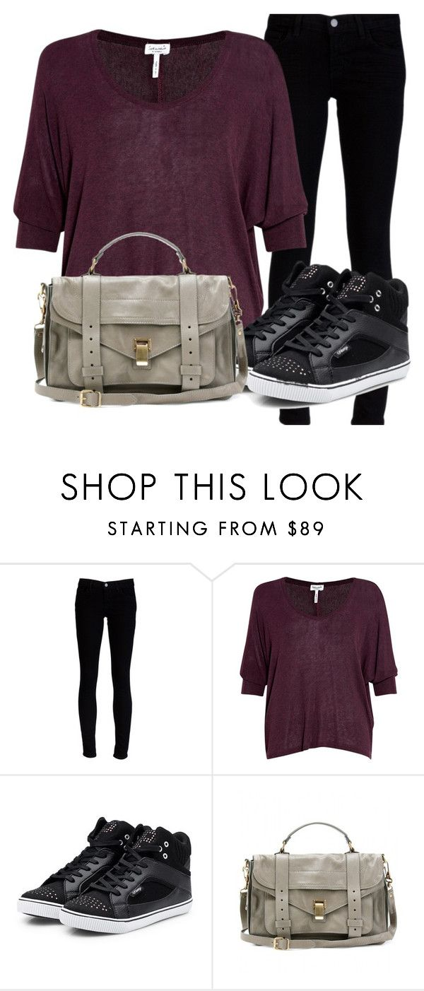 """Sans titre #78"" by em-a ❤ liked on Polyvore featuring J Brand, Splendid, Pastry and Proenza Schouler"