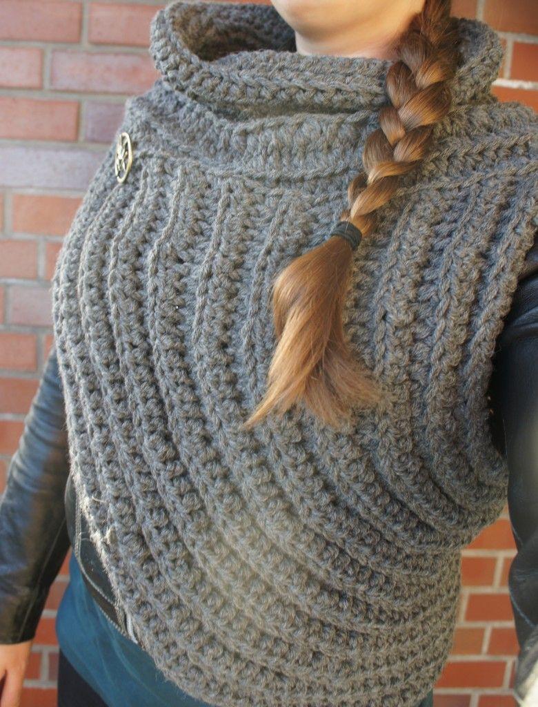 Katniss Cowl - Lila Erdbeere | Crochet | Pinterest | Häkeln ...