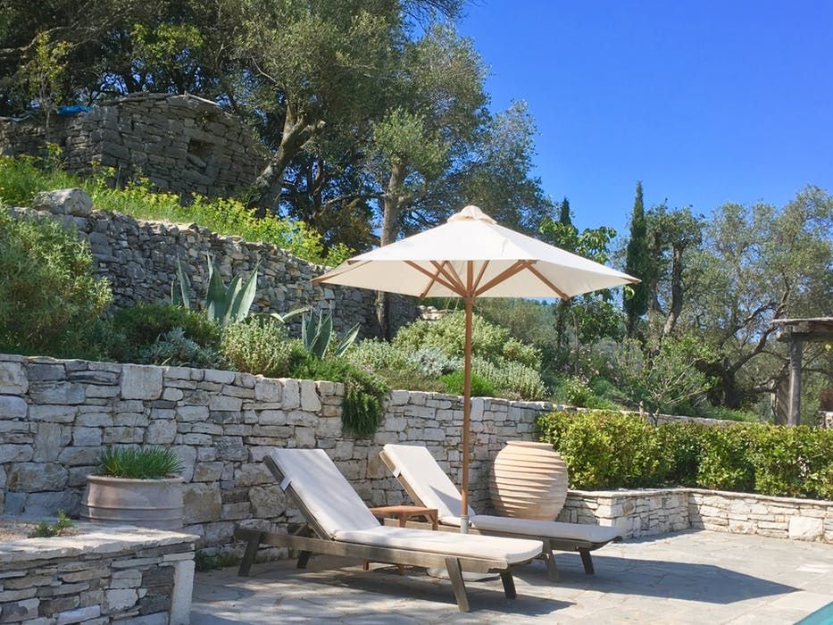 Ithica House Corfu villa for two. Super stylish with