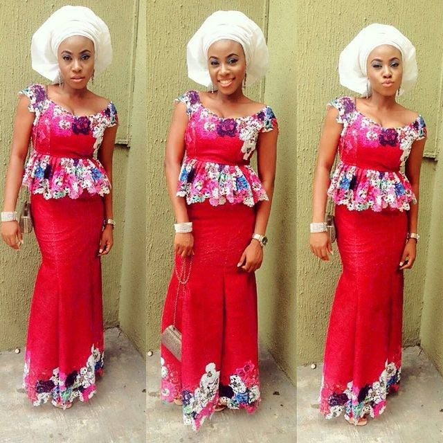 7d88b6266a94c6 9 Amazing Nigerian Traditional Skirt and Blouse Styles Amillionstylescom