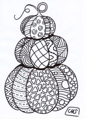 Kleurplaten Mandala Halloween.Gribouillage Et Bidouillage Autumn Halloween Kleurplaten