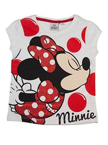 593200354 Minnie Mouse oficial niña camiseta de manga corta partir de 3
