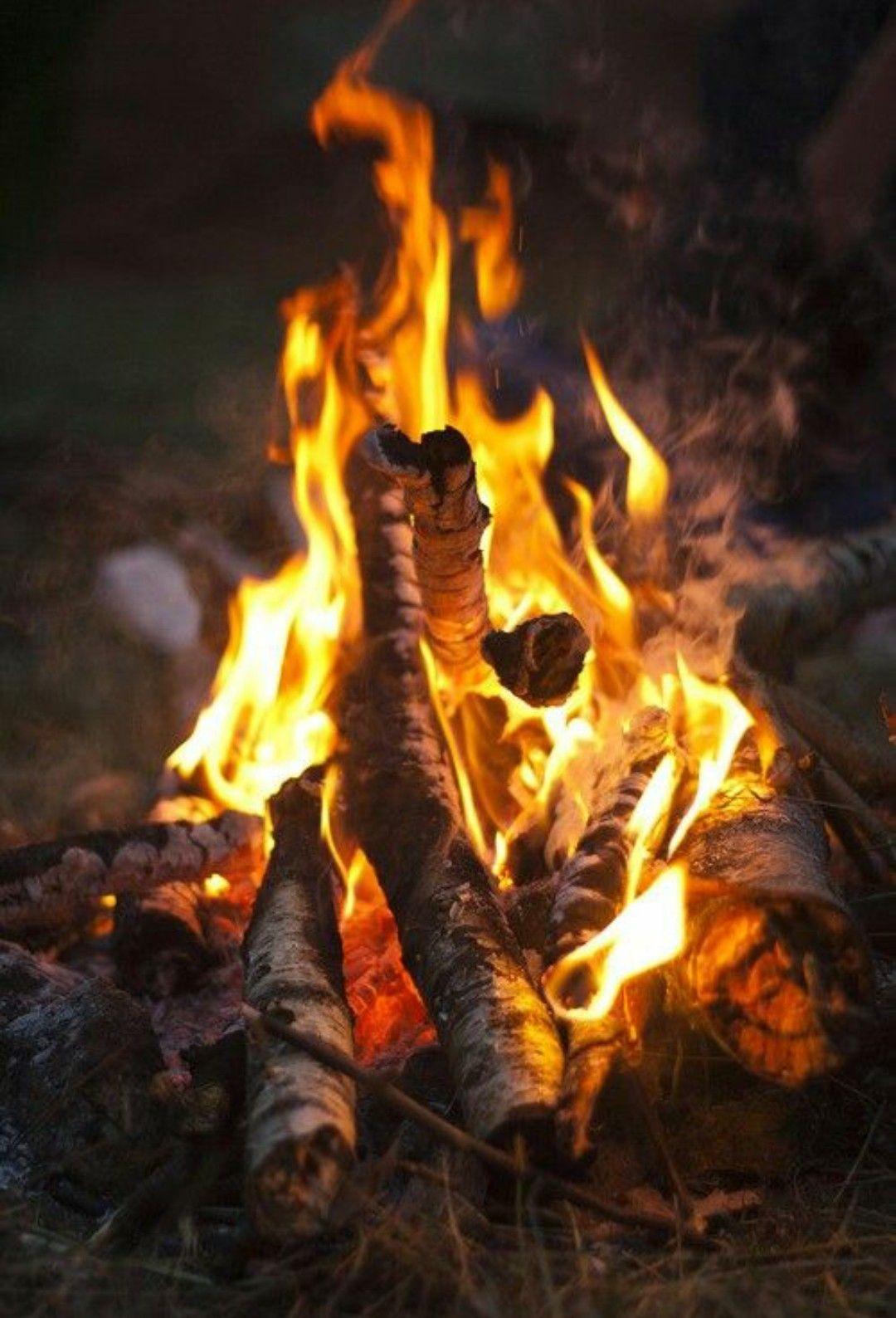 Fire Photography Campfire Fire