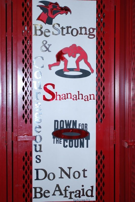 wrestling locker ideas - Locker Decoration Ideas