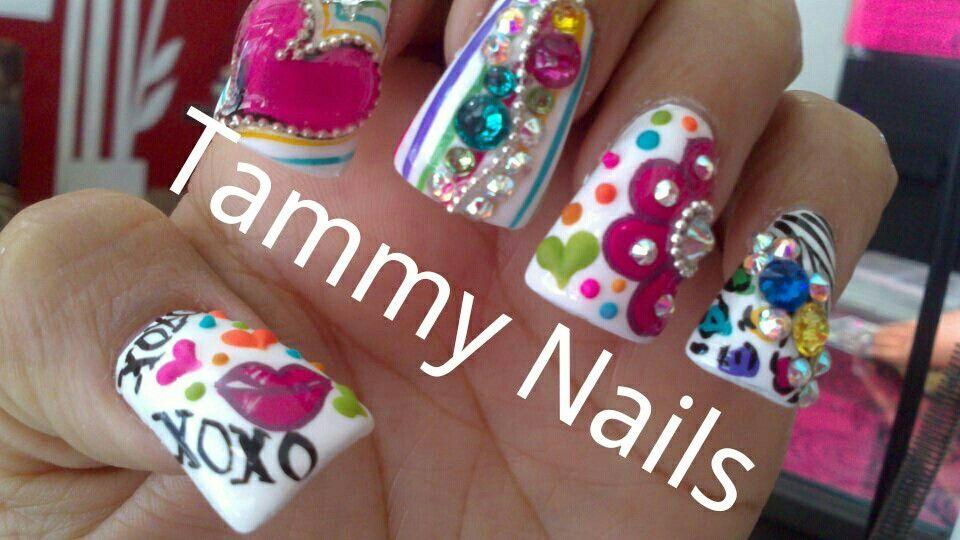 Estilo sinaloa $$ 280 | Tammy Nails | Pinterest | Estilo, Uñas ...