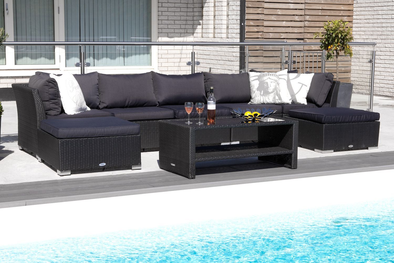 b3a18c28 Hillerstorp Wisconsin Loungegrupp 7-sits | Garden | Outdoor ...